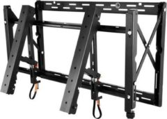 Zwarte High-end universal videowall mount withmanual front service for 46i and 55i XUN/S/V- XS and P-Series landscape. Connector kits have to be ordered separately.