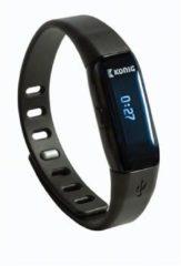 Zwarte König Draag de Bluetooth-sportarmband tijdensuw dagelijkse activiteiten om uzelf uitte dagen een gezondere levensstijl te ontwikkelen.
