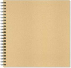 Artgecko Krafty Spiraal Schetsboek 30x30 cm 150gr 40 vel Wit