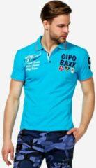 Blauwe Cipo & Baxx Poloshirt