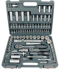 Dopsleutelset Metrisch 1/4 (6.3 mm), 1/2 (12.5 mm) 94-delig Brüder Mannesmann M98410