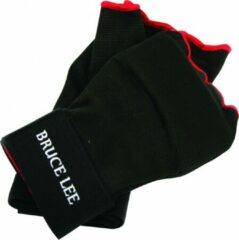 Rode Bruce Lee Easy Fit Gevoerde Binnenhandschoenen Met Bandage Large/Extra Large