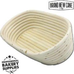BrandNewCake Rijsmandje Riet Ovaal 700g (28,5x14cm) - Banneton voor Deeg Rijzen en Brood Bakken