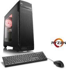CSL Gaming PC | Ryzen 7 1700 | GTX 1050 Ti | 16GB DDR4 | 240GB SSD »Sprint T8561 Windows 10 Home«