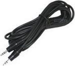 Zwarte Mobigear AUX Cable 3,5 mm naar 3,5 mm Black (1,5 meter)