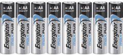 AA batterij (penlite) Energizer Max Plus Alkaline 1.5 V 8 stuks