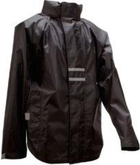 Ralka Regenjas - Kinderen - Unisex - Zwart - Maat 176