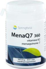 Springfield Nutraceuticals - MenaQ7 360 mcg vitamine K2 30 vegicaps