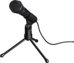 """Zwarte """"Hama Microfoon """"""""MIC-P35 Allround"""""""" voor pc en notebook, 3,5-mm-jack"""""""