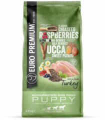 Euro-Premium Medium to Large Puppy Kalkoen 2,5 kg