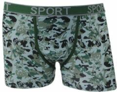 Groene Uomo heren boxershort camouflage