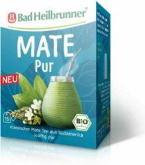 Bad Heilbrunner - Mate thee - Pure Maté - 15 Filterzakjes