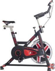 Zwarte Spinningbike FitBike Race Magnetic Basic - incl. trainingscomputer
