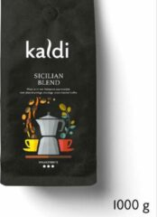 Kaldi Koffiebonen Sicilian Espresso Blend - 1000 gram