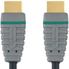 Groene Bandridge BVL1003 HDMI GOLD 24K audio-/videokabel