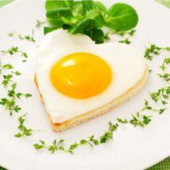Leukste Koop Ei in de vorm van een hart