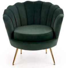 Home Style Fauteuil Amorinito 83 cm breed in groen