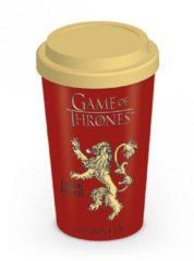 Zwarte Game Of Thrones Games of Thrones - Lannister Logo Travel Mug