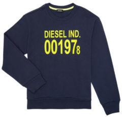 Diesel Kids Sweater kids Blauw 00J4YS 0lAJH K89J