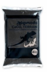 Zwarte Komodo Caco Zand - Zwart - 4 kg