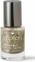 Gouden YOUNG NAILS Caption nagellak Top Effects 018 - Shizaaam