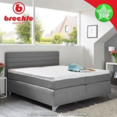 Breckle Boxspringbett Arga Top 200x200 cm inkl. Topper