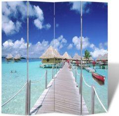 VidaXL Kamerverdeler inklapbaar strand 160x170 cm