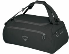 Zwarte Osprey Daylite Duffel 45 black Handbagage koffer
