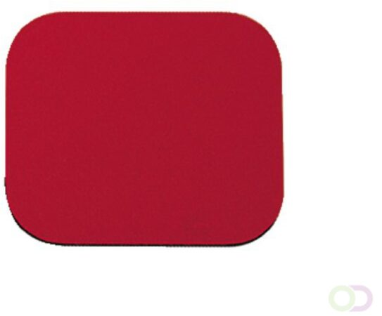 Afbeelding van Muismat Fellowes standaard 203x241x6mm rood