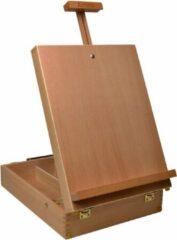 Artina Tafelezel - Houten Koffer – Beukenhout - 47x30x78cm - Nancy