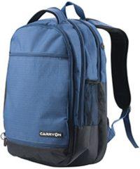 Blauwe CarryOn - Laptop Rugzak - Daily Business laptoptas - 28 Liter - Blauw