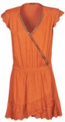 Oranje Kleding Robe BQ30155 by IKKS Women