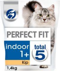 Perfect Fit Droogvoer Adult Indoor Kip - Kattenvoer - 1.4 kg - Kattenvoer