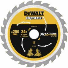 DeWALT DT99571 XR Cirkelzaagblad 250x30mm 24T