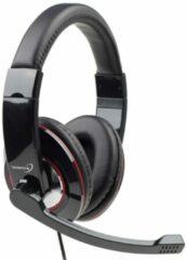 Gembird MHS-U-001 PC-headset USB Kabelgebonden Over Ear Zwart