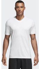 Witte Adidas Tabela 18 SS Jersey Teamshirt Heren Sportshirt performance - Maat XL - Mannen - wit