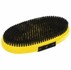 Toko - Base Brush Oval Horsehair - Borstel geel/zwart