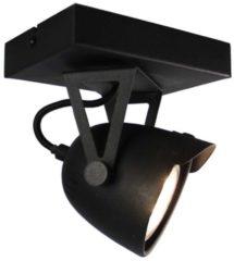 LABEL51 - LED Spot Cap 1-lichts 14x10x14 cm Zwart Metaal