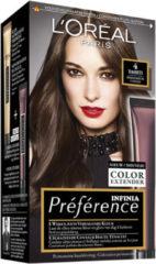 L'Oréal Paris L'Oréal Paris Préférence Haarverf - 4 Middenbruin - Color extender