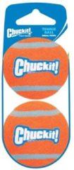 Oranje Voordeelset Tennisbal Hond - Small - 2 Stuks - Chuckit (Nieuw)