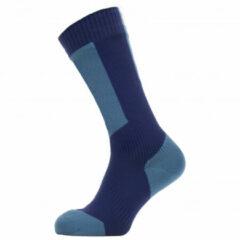 Rode Sealskinz Waterproof Cold Weather Mid Length Sock with Hydrostop Fietssokken Unisex - Maat XL