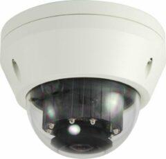 Witte Level One LevelOne FCS-3306 IP-beveiligingscamera Binnen & buiten Dome Plafond/muur 2048 x 1536 Pixels