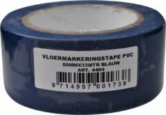 Verlofix Vloermarkeringtape 50 Mm X 33 M Pvc Blauw