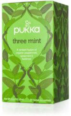 Pukka Org. Teas Three mint 20 Stuks