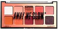 NYX Professional Makeup NYX PMU Professional Makeup Away We Glow Shadow Palette - Lovebeam AWGSP01 - Oogschaduw Palet - 1 st