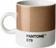 Pantone Universe Copenhagen Design - Pantone - Espressokopje -120ml - Brons
