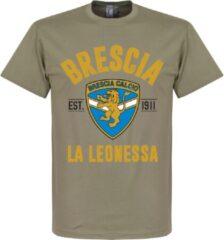 Bruine Retake Brescia Established T-Shirt - Khaki - S