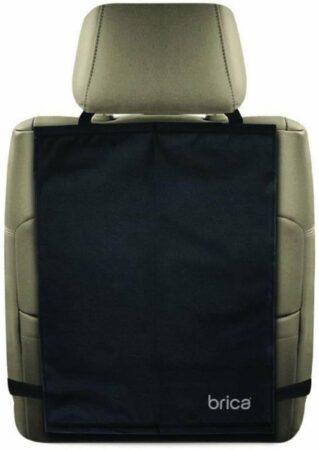 Afbeelding van Zwarte Munchkin Kick Mats Autostoelbeschermer - Voor voorstoel - 2 Stuks