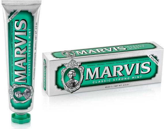 Afbeelding van Tandpasta Tandvlees Verzorging Classic Strong Mint Marvis 85 ml