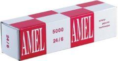 Bruna Nieten Rapid 24/6 kopercoating standaard 5000 stuks